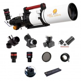Lunt 100mm APO Universal Day & Nigth Use Modular Telescope (Advanced Package)