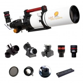 Lunt 100mm APO Universal Day & Nigth Use Modular Telescope (Observer Package)