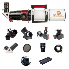 Lunt 80mm Universal Day & Nigth Use Modular Telescope (Advanced Package)