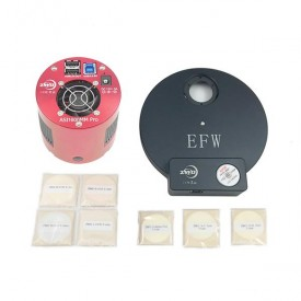 ZWO ASI1600MM-P Monochrome Astronomy Camera Kit with EFW8 & 31mm LRGB, Ha, SII, & OIII Filters